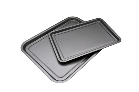 oven tray: 2 piece oven tray set for baking