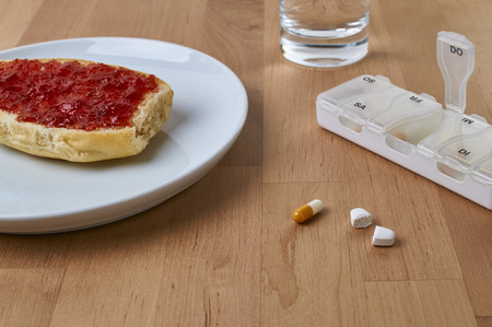 Tablets are taken at breakfast. For the right dose is divided a tablet