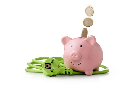 Energy costs - saving energy is good for climate protection and saving money.