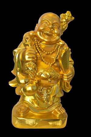 Golden Fat Buddha photo