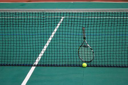 Tennis net photo