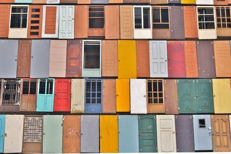 typology: doors Stock Photo