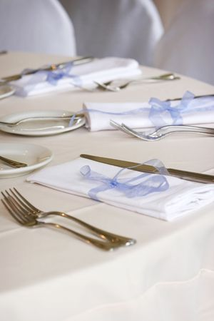 table setting for a wedding or dinner event Stock Photo - 607939