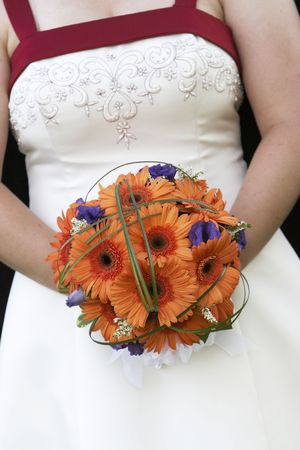A very cool wedding bouquet of flowers Stock Photo - 784034