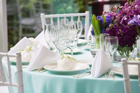 Tabelle, die für ein besonderes Ereignis Standard-Bild - 4013103