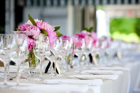 decor: Wedding table decoration series