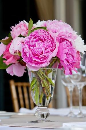 Wedding tavolo serie decorazione Archivio Fotografico - 12819842