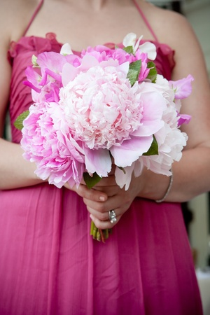 Wedding bouquet of Flowers  photo