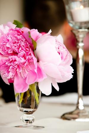 Wedding table decoration series photo