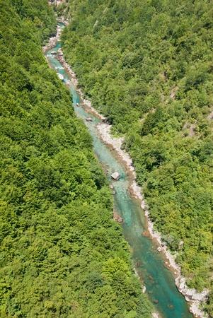 tara: Tara River Canyon, Montenegro Stock Photo