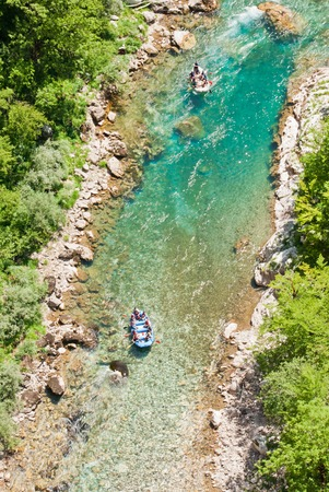 tara: Rafting on Tara River, Montenegro