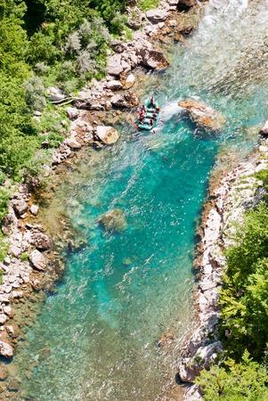 tara: Rafting on Tara River, Montenegro