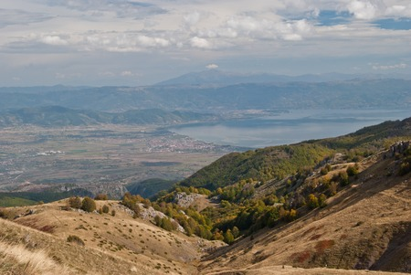 macedonian: Macedonian mountains Stock Photo