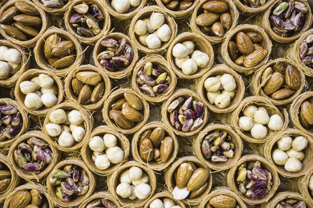 Traditional oriental sweets.