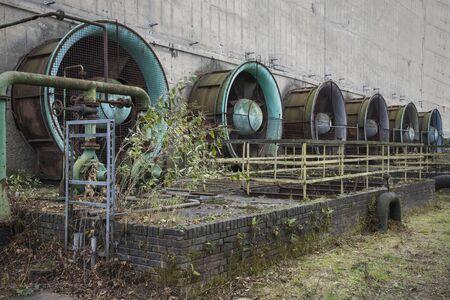 Historic industrial building.