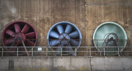 Industrial cooling devices.
