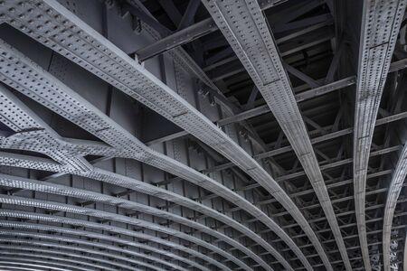 Framework of Blackfriars Bridge.