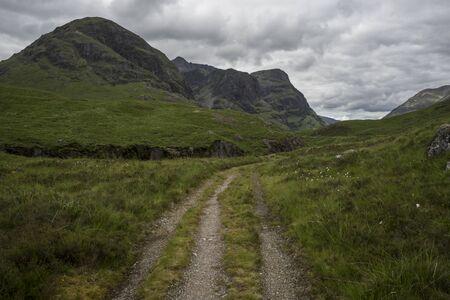 Glencoe in the Scottish Highlands.