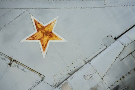 Russian fighter plane. Standard-Bild