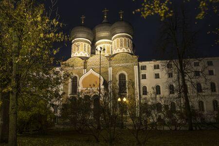 Moskwa nocą.