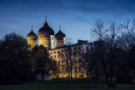 Historic church in Moscow.