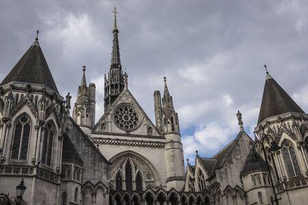 Royal Courts of Justice Reklamní fotografie