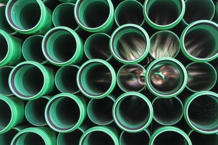 Abstract view of water pipes