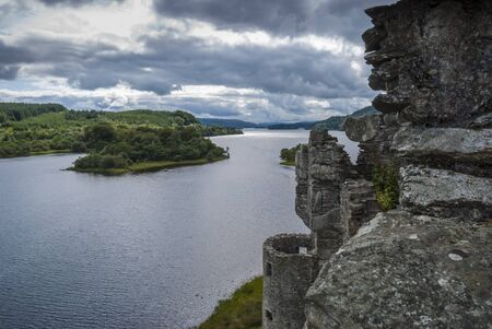 View over loch awe