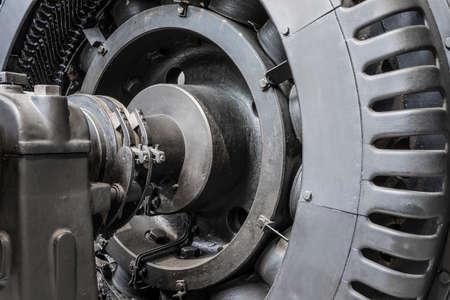 historic generator detail