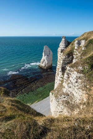 French coastline near Etretat. Archivio Fotografico