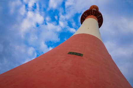 Historic lighthouse of Bremerhaven.