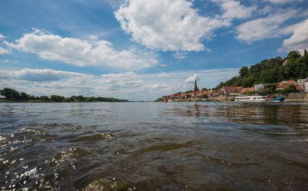 River Elbe in nordern Germany.