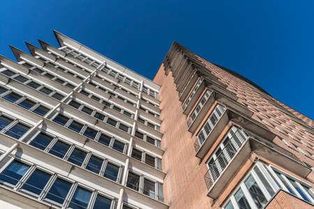 abstract view of an urban building Standard-Bild