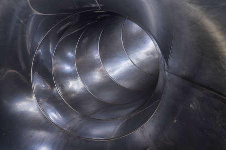 stainless steel sliding tube Standard-Bild