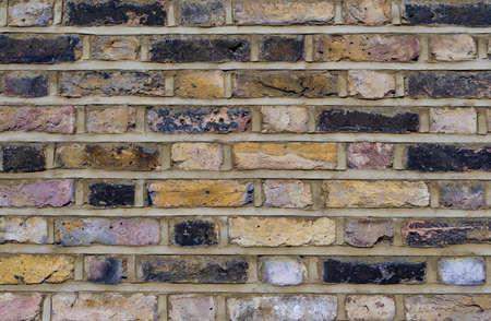 close up of a historic brick wall Standard-Bild