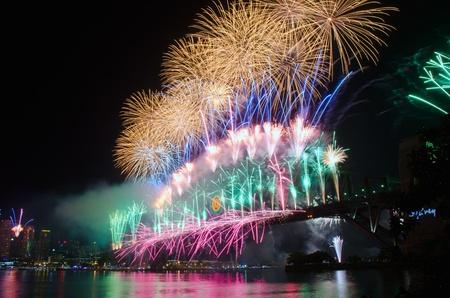 World Renown Sydney Harbour NYE Fireworks Display