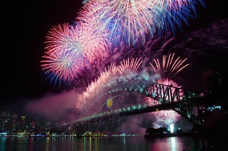 sydney: World Renown Sydney Harbour NYE Fireworks Display