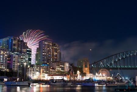 World Renown Sydney Harbour NYE Fireworks Display photo