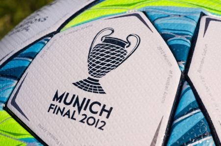 This is the office ball played in the final match between Bayern Munich and Chelsea