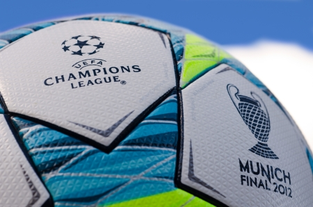 This is the office ball played in the final match between Bayern Munich and Chelsea Redactioneel