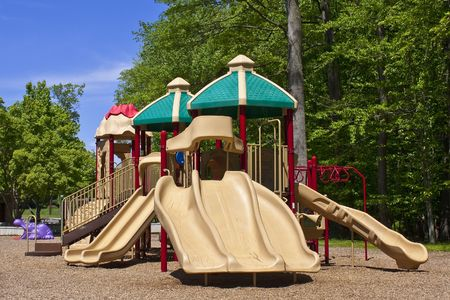 jungle gym: Jungle Gym in a playground