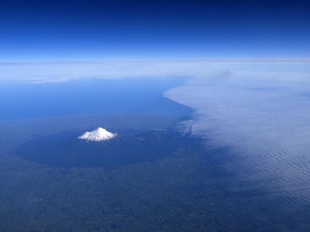egmont: Mount Taranaki or mount egmont on North Isaland of New Zealand