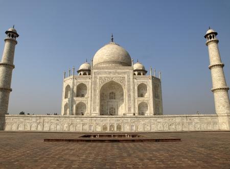 Beautiful Taj Mahal seen from the east side photo