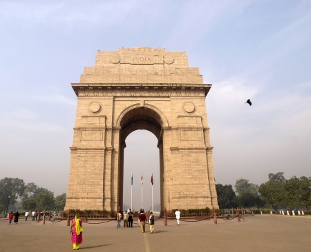 The India Gate- The National Monument of India Stock Photo - 13626828