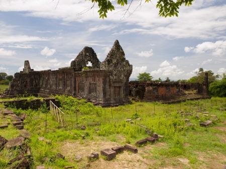 Vat Phou or Wat Phu in Southern Laos