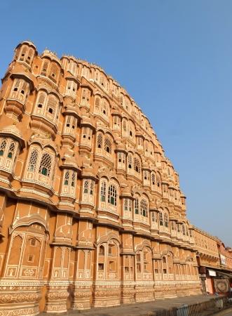 rajput: Hawa Mahal under the morning light