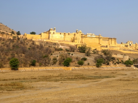 The famous Amber Fort of Jaipur, India photo