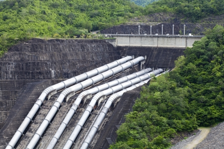 Pipelines for the Hydroelectric power plant