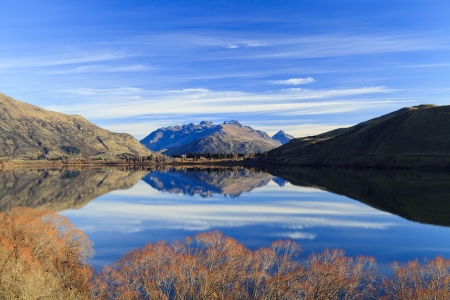Lake Hayes in New Zealand photo