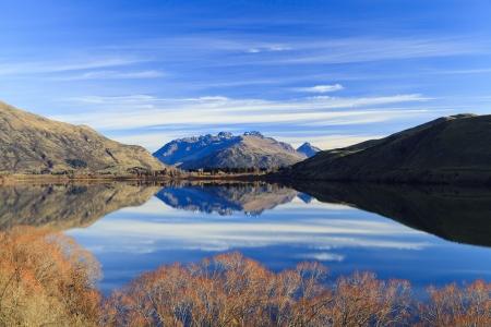 Lake Hayes in New Zealand Stock Photo - 15805751